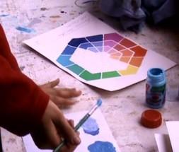 Taller de Color y Mezclas Color Mix con los 8 verdaderos colores primarios